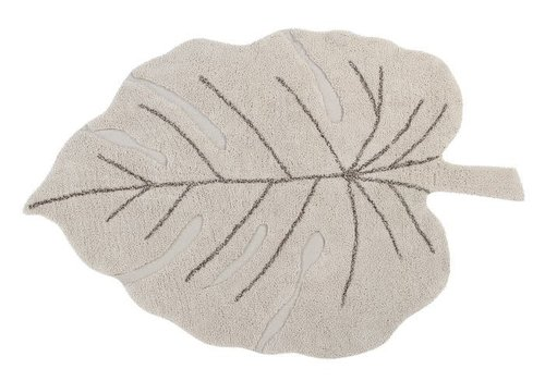 Lorena Canals Washable rug Monstera Natural