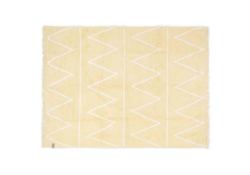 Lorena Canals Washable Rug Hippy Yellow 120x160