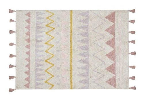 Lorena Canals Washable Rug Azteca Natural Vintage Nude 140 x 200