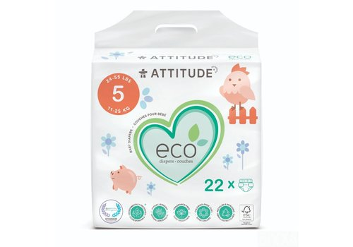 Attitude Baby Care luiers Junior Maat 5