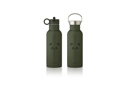 Liewood Neo water bottle Panda hunter green