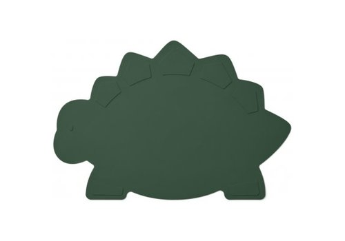 Liewood Tracy Placemat Dino garden green