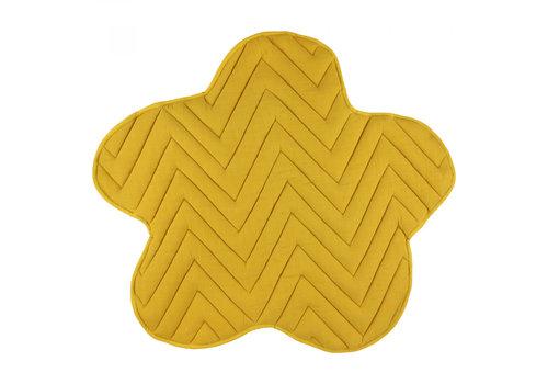 Trixie Play mat Flower - Bliss Mustard