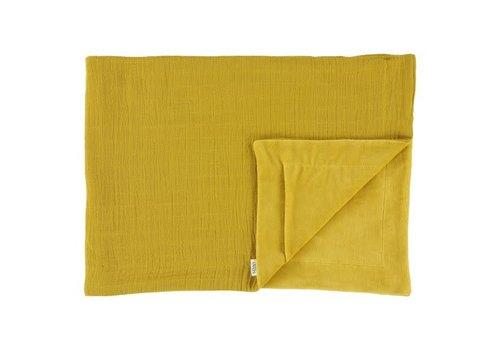 Trixie Fleece deken Bliss mustard 75x100cm