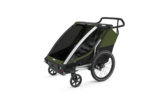 Thule Chariot Cab 2 Cypres Green