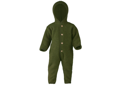ENGEL Hooded overall reed mélange