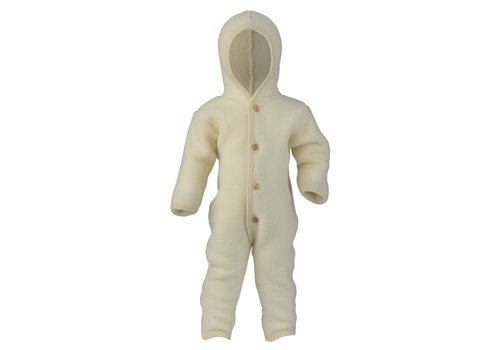 ENGEL Hooded overall natural