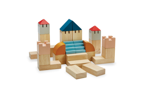 PlanToys Creatieve Blokken - Orchard collection