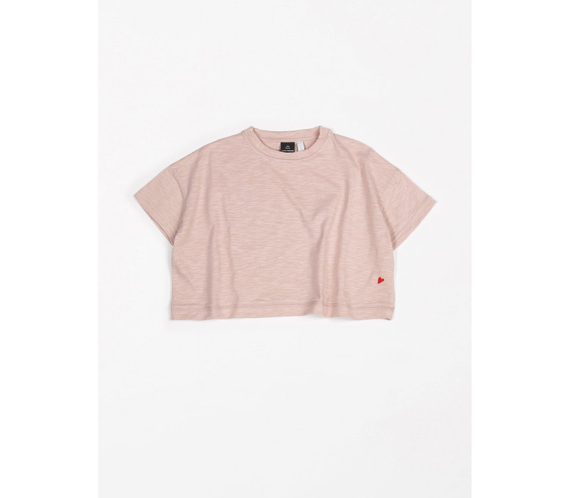 T-Shirt Oversized Flamee Pink sand