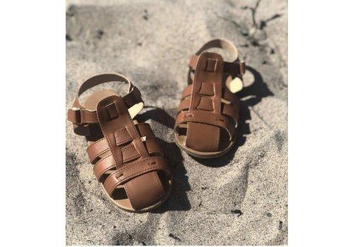 BabyMocs Beach Sandal Brown