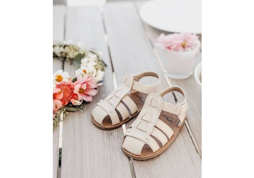 BabyMocs Beach Sandal Off White