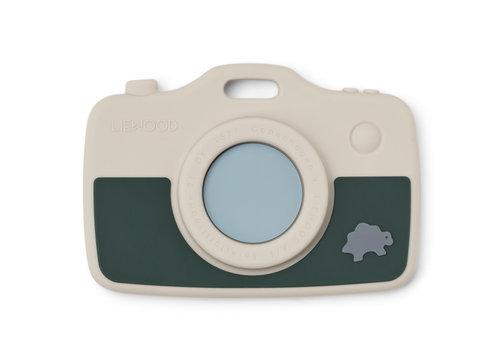 Liewood Steven camera Dino sandy/garden green mix