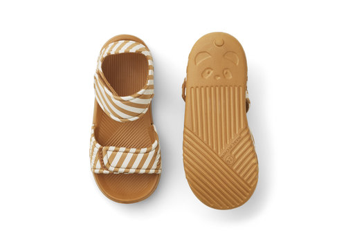 Liewood Blumer sandals Stripe mustard/sandy