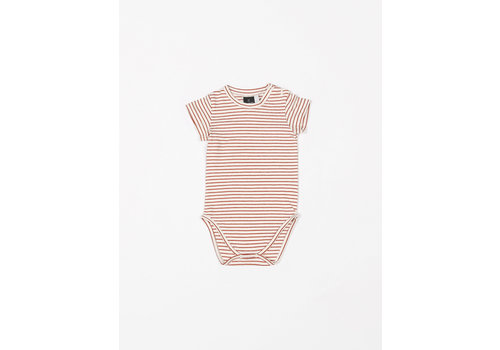 mundo melocotón Body jersey ruby stripes