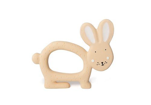 Trixie Natural rubber grasping toy - Mrs. Rabbit