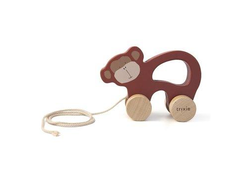 Trixie Houten trekspeeltje - Mr. Monkey