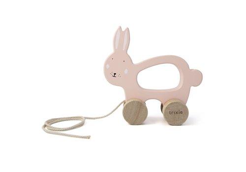 Trixie Houten trekspeeltje - Mrs. Rabbit