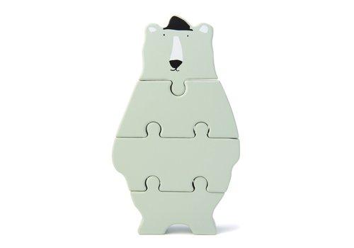 Trixie Houten dierenvormpuzzel - Mr. Polar Bear
