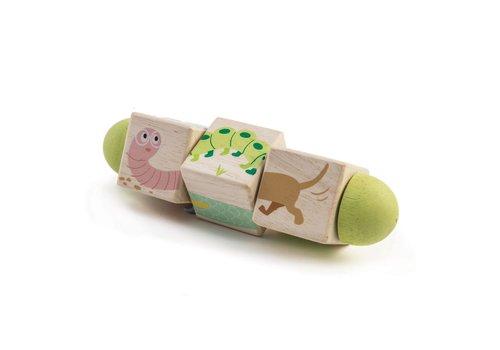 Tender Leaf Toys Twisting Cubes - Animals