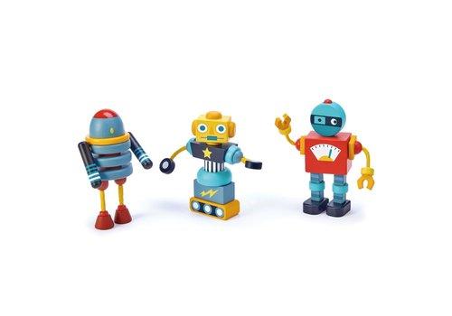 Tender Leaf Toys Robot bouwen