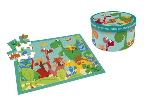 Scratch Puzzel Dino Wereld