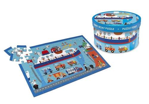 Scratch Puzzel Veerboot