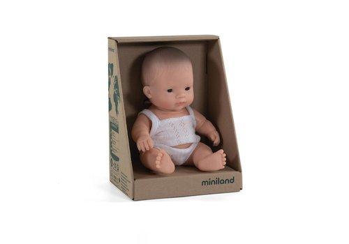 Miniland Babypop Aziatische Jongen 21cm
