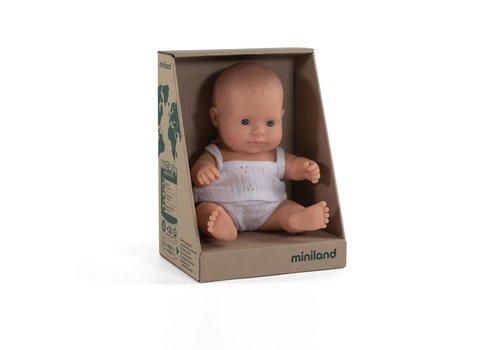 Miniland Babypop Europese Jongen 21cm