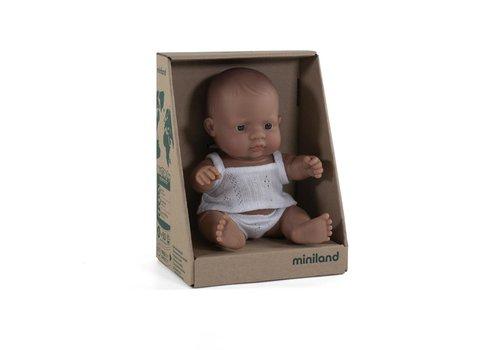 Miniland Babypop Latijnse Jongen 21cm