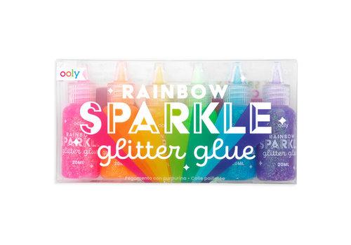 Ooly Regenboog glitter lijm