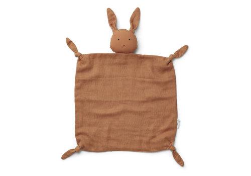 Liewood Knuffeldoekje Agnete Rabbit sienna