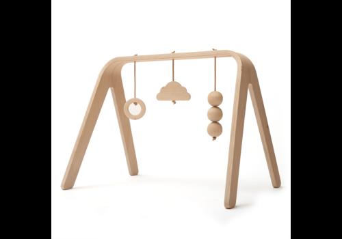 Charlie Crane Speelboog met houten speeltjes NAHO