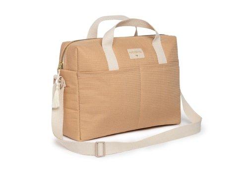 Nobodinoz Gala waterproof changing bag Nude
