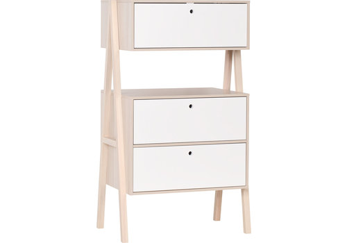 Vox SPOT 2-drawer chest with upper cabinet