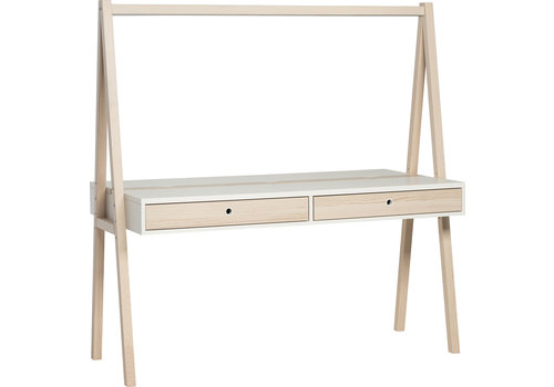 Vox SPOT Two-sided desk (without drawers) with lighting