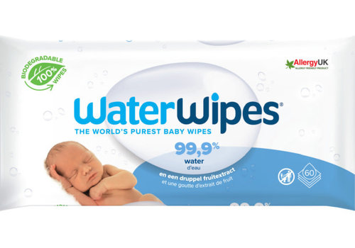 WaterWipes WaterWipes 60 pcs