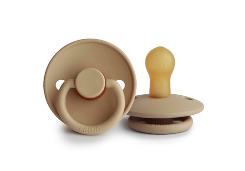 Frigg Classic pacifier natural rubber Croissant