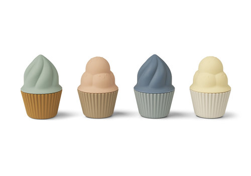 Liewood Kate cupcakes toy 4-pack Multi mix