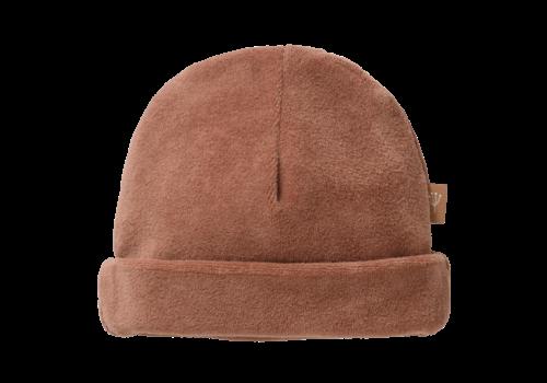 Fresk Velours Hat Tawny brown