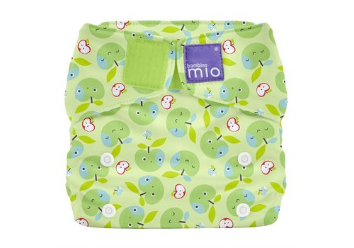 Bambino Mio MIOSOLO all-in-one reusable nappy apple crunch