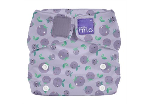 Bambino Mio MIOSOLO all-in-one reusable nappy berry bounce