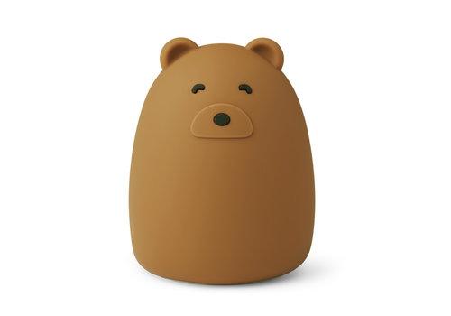 Liewood Nachtlamp Winston Mr bear golden caramel