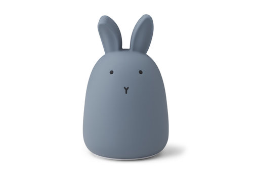 Liewood Winston night light Rabbit stormy blue