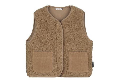 Daily Brat Teddy vest happy camel