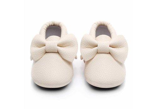 BabyMocs BabyMocs Bow Off White
