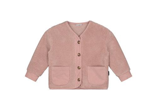 Daily Brat Porter teddy jacket dusty pink