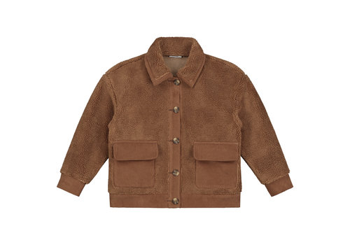 Daily Brat Royal teddy jacket forest brown