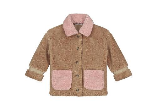 Daily Brat Parker teddy jacket camel