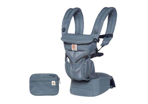 Ergobaby Babydraagzak 4P 360 OMNI Cool Air Mesh Oxford Blue