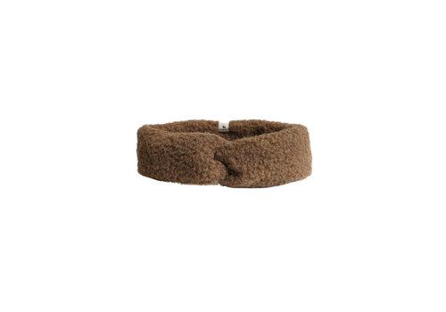 Alwero Hoofdband Coni 100% wol bark